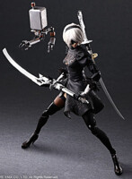 <![CDATA[Figurka NieR: Automata - 2B (YoRHa No. 2 Type B) - Deluxe Edition (Play Arts Kai)]]> - náhled