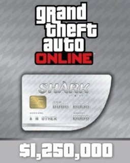 <![CDATA[Grand Theft Auto V Online Great White Shark Cash Card 1,250,000$ GTA 5 (PC DIGITAL)]]> - náhled